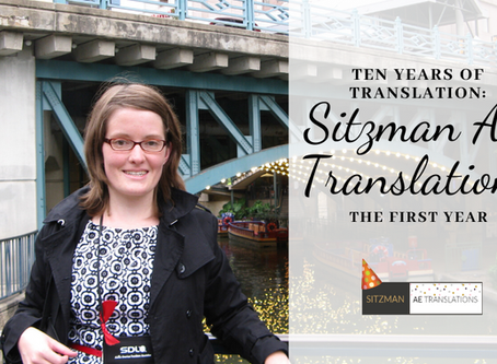 Ten Years of Translation: The First Year of Sitzman AE Translations