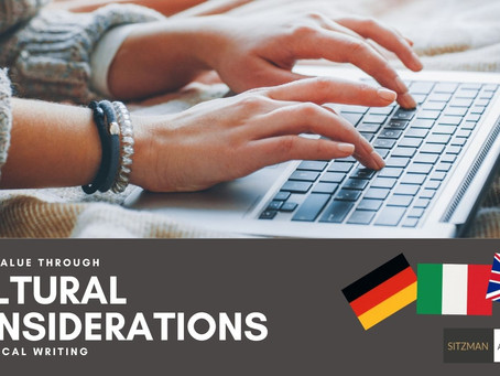 Adding Value Through Cultural Considerations in Technical Writing