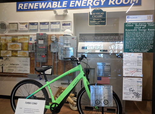 Las Vegas Cyclery: 2019 Winner of the Sustainability BISBY