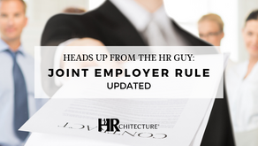 Heads Up from The HR Guy:  Joint Employer Rule Updated
