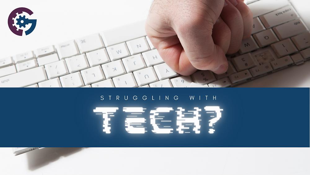 hand, keyboard, logo. fist, punch, technology