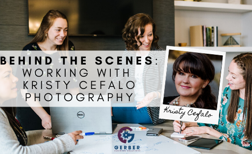 Behind the Scenes: Working with Kristy Cefalo Photography