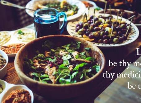 Mindful Eating, Let FOOD be your medicine 😊