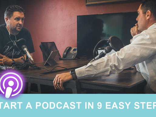 Start a podcast in 9 Easy Steps