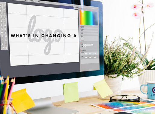 What's in Changing a Logo?