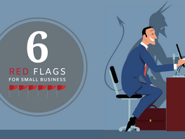 6 Red Flags for Small Businesses