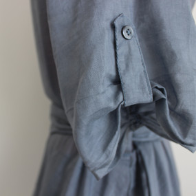 Sleeve button detail