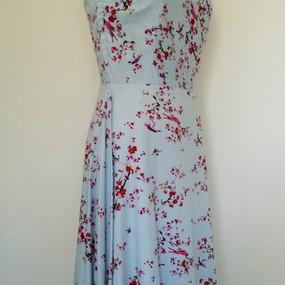 20's inspired rayon dress