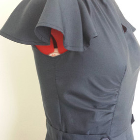 40's cape sleeve