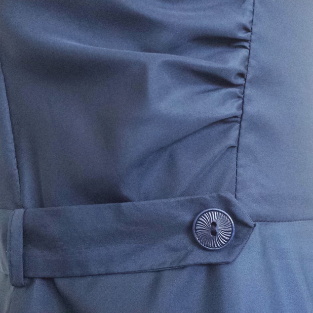 Belt button detail