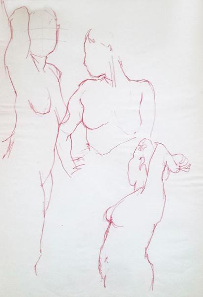 1min Life Drawing