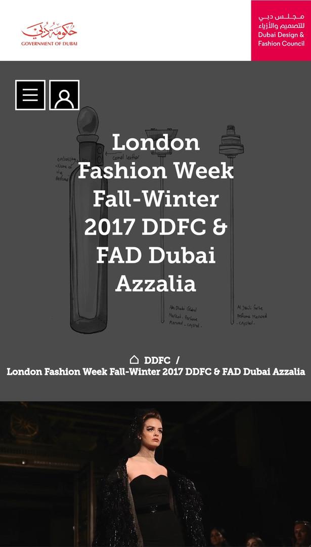 DDFC LFW MFW fashion design students FAD International