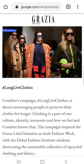 FAD fashion Design Students Feature in Grazia Magazine