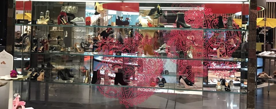 Live Project with Level Shoes, the world's largest Footwear Store located in Dubai Mall