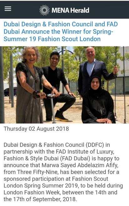 MENA Herald FAD Dubai Luxury Brand Management