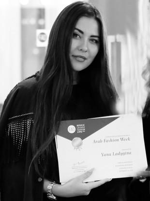 Yana Ladygina   Arab Fashion Week