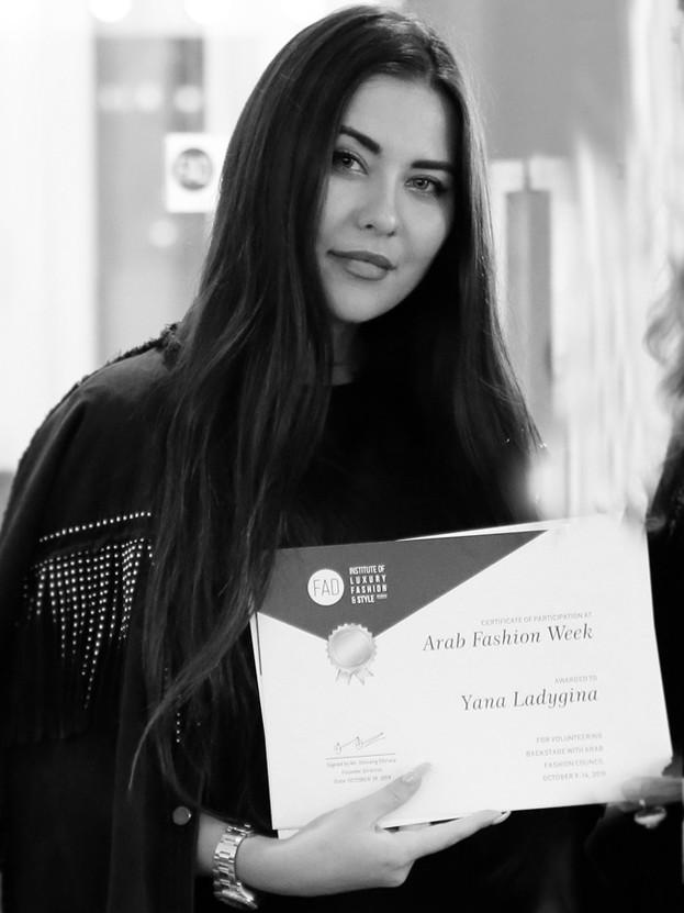 Yana Ladygina | Arab Fashion Week