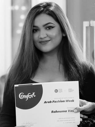 Rehnuma Vasi   Arab Fashion Week