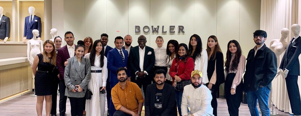 Industry Visit to David Bowler