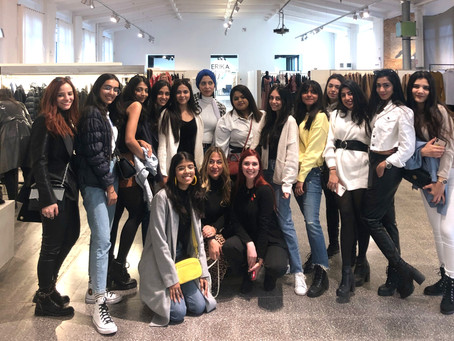 FAD students attend the Euro Tour 2020