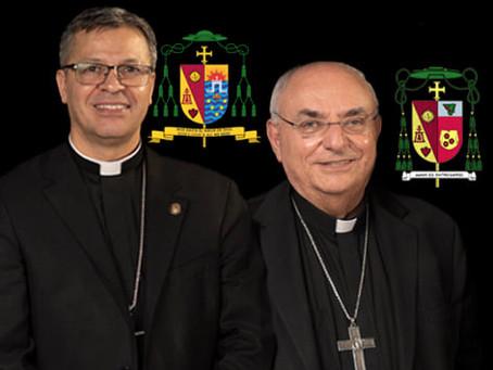 Transition of Bishops in Diocese of San Bernardino