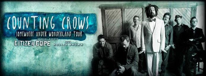 Counting Crows Somewhere Under Wonderland Tour