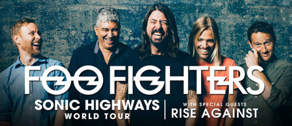 Foo Fighters Sonic Highways World Tour