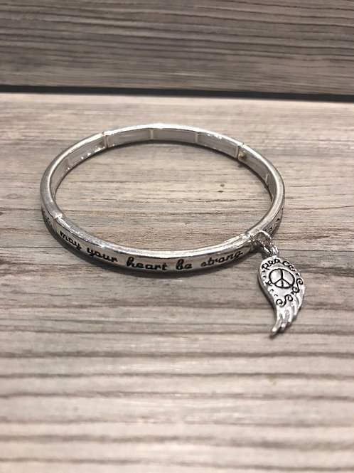 Peace Angel Blessing Bracelet