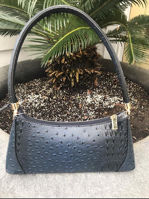 Textured Carry Clutch Bag