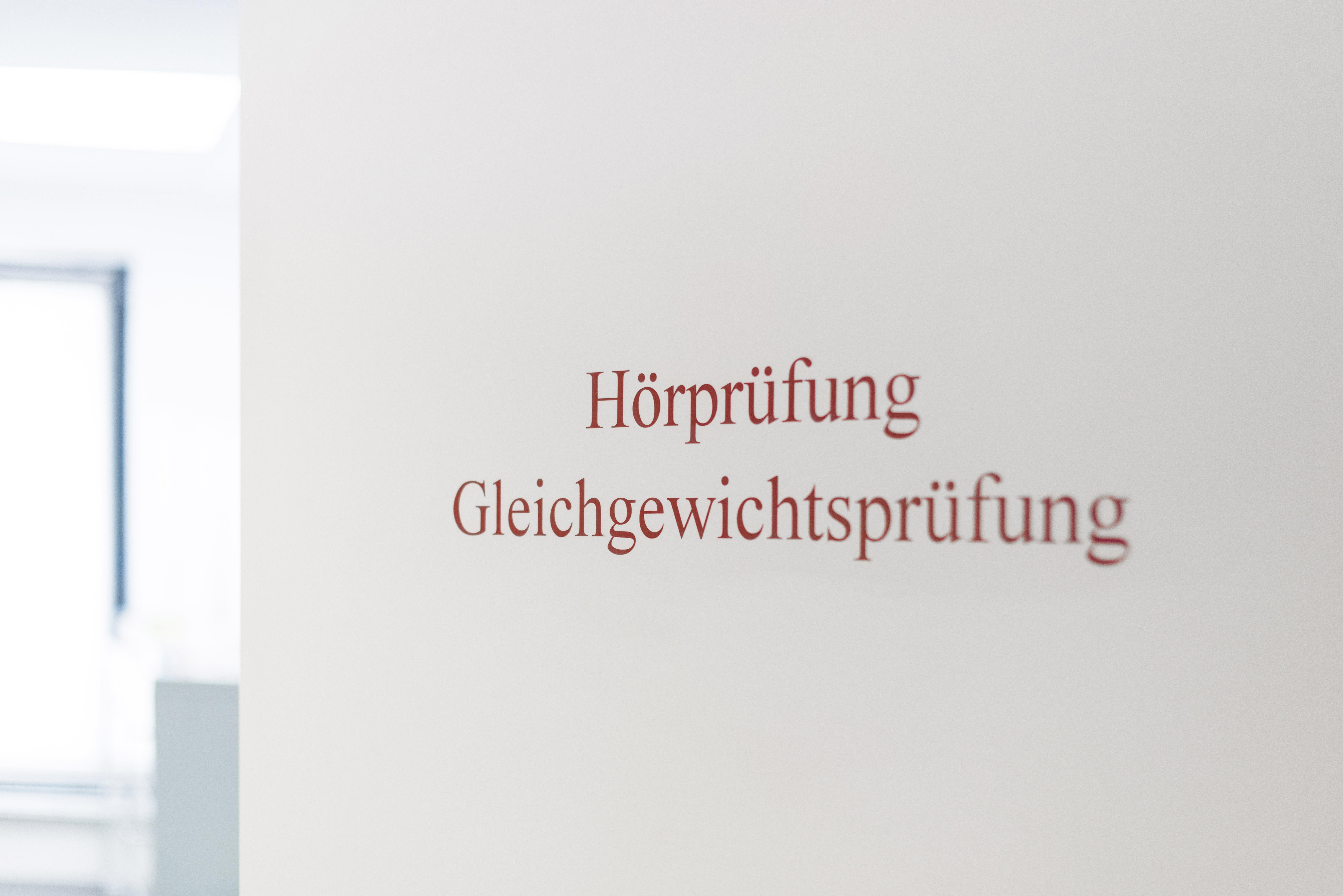 Hörprüfung HNO Praxis Bonn Duisdorf
