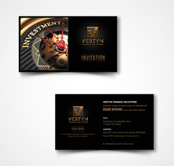 Vestyn invitation card