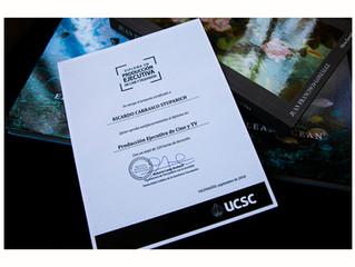 Diplomado en Producción Ejecutiva de Cine y TV.