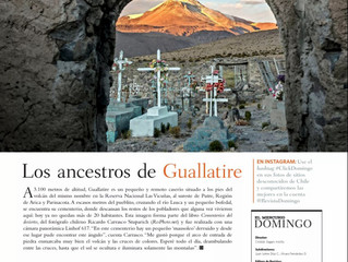 Publicación Revista del Domingo, El Mercurio. Chile.