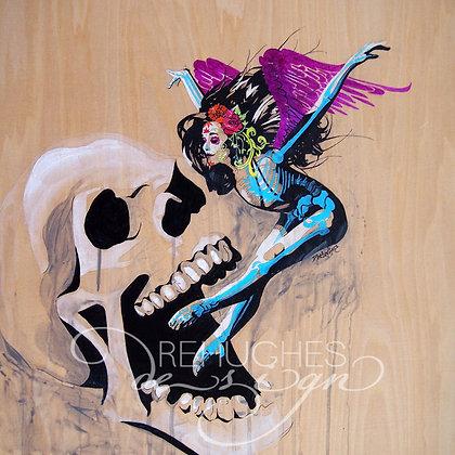 vuelo esqueleto
