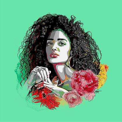 Goddess - Bright Green