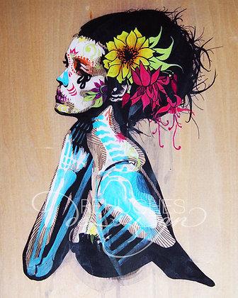niña de las flores #1