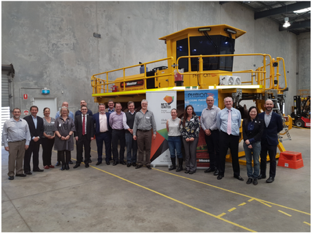 Visit from Brisbane Tailings & Water Cluster Group