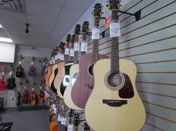 Takamine Line of Guitars