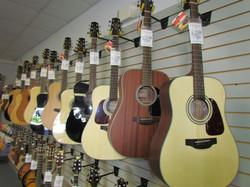 Takamine Line of Guitars 2