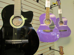Colored Guitars
