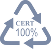 icon Triangle Cert 100% tinyPNG 100 120p