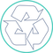 icon recyclable green circle tinyPNG 100