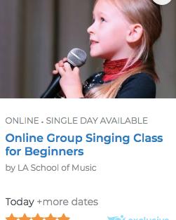 Singing Camp