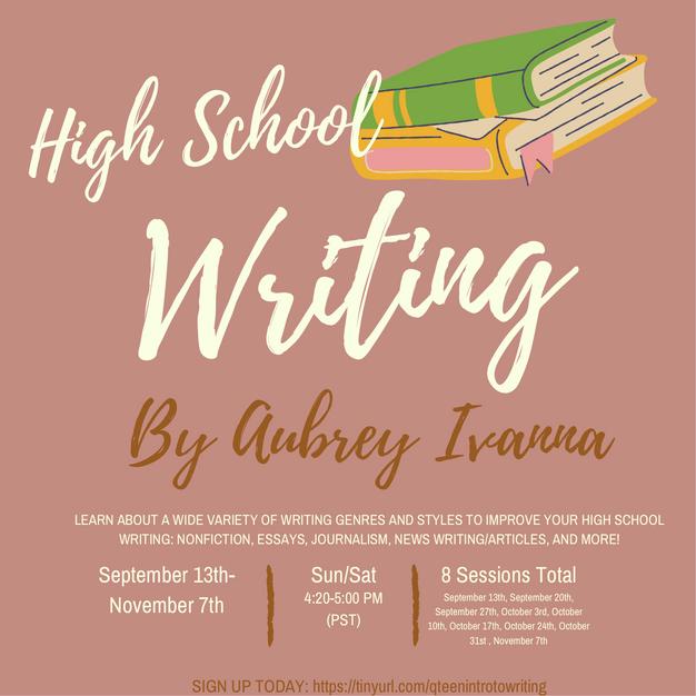High School Writing Workshop