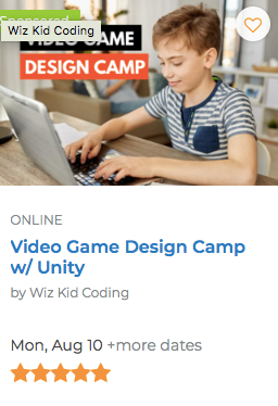 Video Game Design Camp