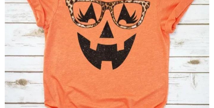 Smiley Pumpkin Tee #0022 RR