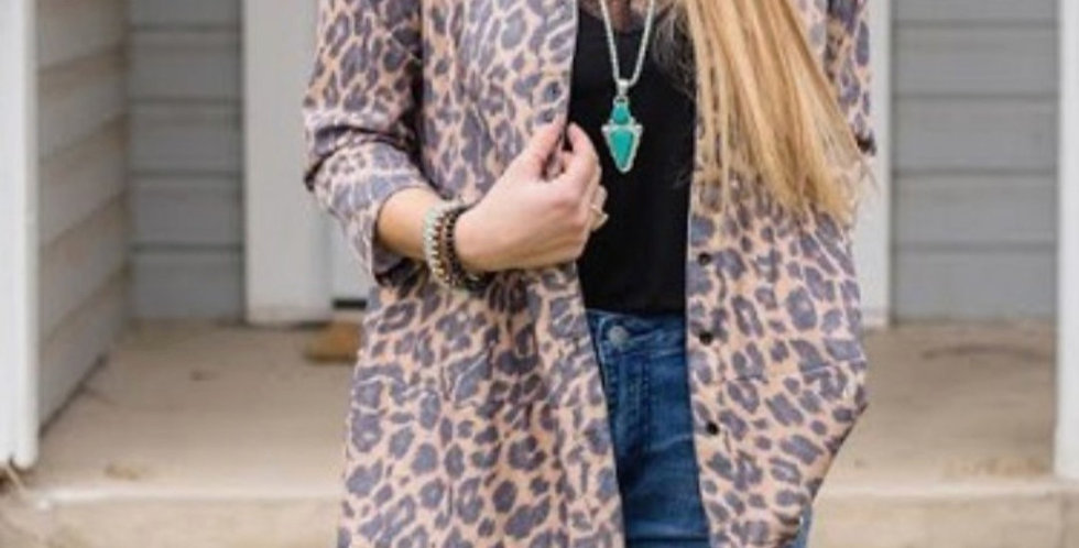 Leopard Top/Jacket