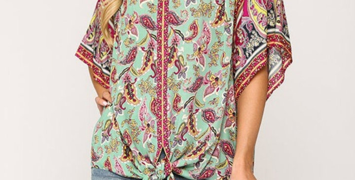Mint Mixed Top GIO #0022