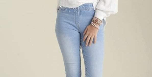 Double Fringe Jeans #0011