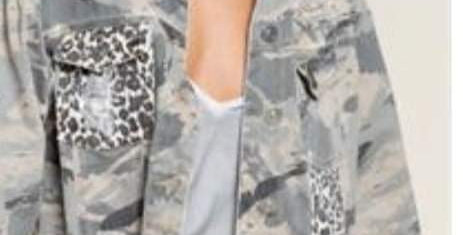 Camo Leopard Jacket #0011 POL